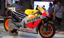 """Bốn siêu xe đua MotoGP """"tề tựu"""" tại Triển lãm Mô tô Xe máy đầu tiên tại Việt Nam"""
