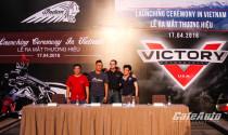Hai thương hiệu mô tô Mỹ Indian Motorcycle và Victory Motorcycles chính thức ra mắt tại Việt Nam