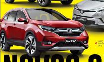 Honda CR-V, SUV bán chạy tại Việt Nam lộ ảnh thiết kế mới