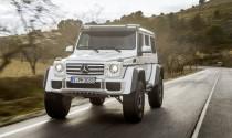 """Mercedes-Benz sẽ mang """"khủng long"""" G550 4x4 2017 đến Mỹ"""