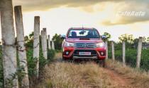 Toyota ưu đãi dành cho khách hàng mua Hilux