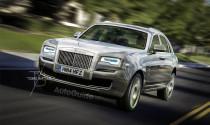 Rolls-Royce sắp ra mắt dòng SUV siêu sang mang tên Cullina