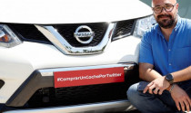 Nissan X-Trail chiếc xe đầu tiên tại châu Âu được bán qua Twitter