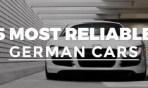 5 mẫu xe Đức đáng tin cậy nhất