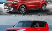 So sánh Kia Soul facelift với phiên bản cũ qua ảnh