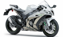 Siêu mô tô Kawasaki ZX-10R 2017 có thêm màu sơn mới