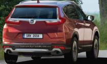 Honda CR-V 2017 sẽ có thêm biến thể hiệu suất cao?