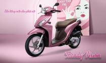 Honda Vision có thêm màu hồng nữ tính