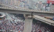 """Đề xuất """"cấm cửa"""" xe máy ngoại tỉnh ở Hà Nội"""