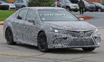 Bắt gặp Toyota Camry TRD 2018 chạy thử nghiệm