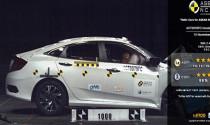 Honda Civic và Nissan Navara đạt điểm an toàn 5 sao của ASEAN NCAP