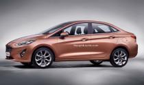 Xem trước Ford Fiesta sedan thế hệ mới