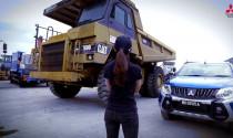 Mitsubishi Triton thế hệ mới kéo xe tải nặng 31 tấn