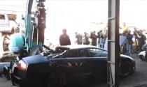 Siêu xe Lamborghini Murcielago LP640 SV bị nghiền nát tại Đài Loan