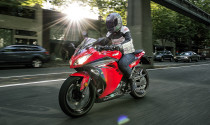 Kawasaki Ninja 300 2017 ra mắt tại Mỹ