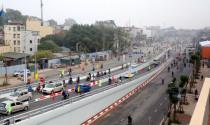 Thông xe cầu vượt trăm tỷ trên đường đắt nhất thủ đô
