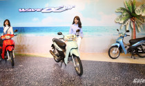 Cận cảnh Honda Wave Anlpha 110 mới ra mắt