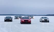 Khách hàng Việt Nam có cơ hội Lái và trải nghiệm xe Bentley trên băng