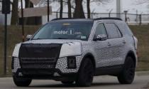 Lộ diện Ford Explorer 2019 trên đường chạy thử