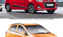 So sánh Hyundai Grand i10 2017 với thế hệ cũ