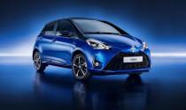Toyota tiết lộ bản nâng cấp Yaris 2017 thị trường châu Âu