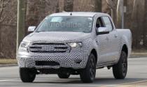Ford Ranger 2019 lộ diện trên đường chạy thử nghiệm
