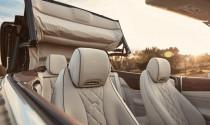 Mercedes-Benz E-Class Cabriolet 2018 nhá hàng với hình ảnh mui xe