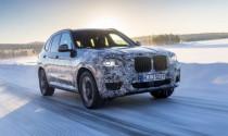 BMW X3 2018 lần đầu lộ ảnh chạy thử nghiệm