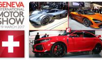 Ngày mai, Geneva Motor Show 2017 chính thức khai mạc