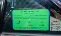 Dán nhãn năng lượng ở Việt Nam không làm ô tô tăng giá