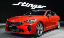 Kia Stinger 2017 tăng tốc 0-100 km/h chỉ trong 4,9 giây