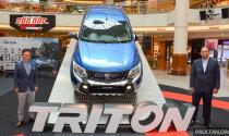 Mitsubishi Triton 2017 có giá từ  397 triệu đồng tại Malaysia