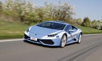 Siêu xe Lamborghini Huracan được sử dụng làm xe cảnh sát tại Italy