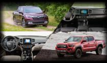 So sánh hai mẫu bán tải hàng đầu Honda Ridgeline và Toyota Tacoma