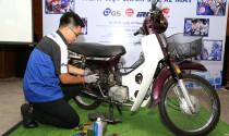Bảo dưỡng xe miễn phí tại Ngày hội Chăm sóc xe máy 2017