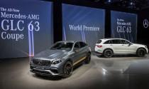 Cặp đôi Mercedes-AMG GLC 63 và GLC 63 Coupe 2018 trình làng