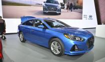 Hyundai Sonata 2018 ra mắt có gì mới?