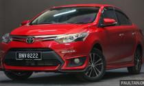 Toyota Vios 2017 cập nhập thêm tính năng cao cấp, giá bán không đổi