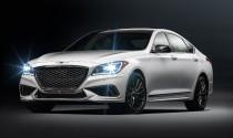 Sedan hạng sang Genesis G80 2018 giá từ 42.725 USD