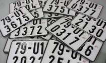 Biển số xe có phải là tài sản để bán đấu giá?