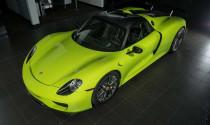 Porsche 918 Spyder Acid Green, hàng siêu hiếm được rao bán