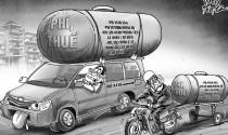 Xe dân mua, đường dân làm, xăng dân đổ sao lại thu phí?