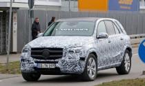 Bắt gặp Mercedes-Benz GLE 2019 trên đường chạy thử