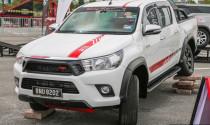 Toyota Hilux ngầu hơn với phụ kiện TRD