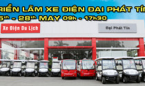 Đại Phát Tín mang dàn xe điện chuyên dùng tới Saigon Autotech 2017