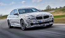 Sedan thể thao BMW M5 2018 sẽ có nhiều cải tiến mới