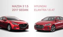 Lựa chọn Mazda 3 1.5L hay Hyundai Elantra 1.6L với tầm giá 690 triệu đồng?