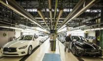 Khởi động dây chuyền sản xuất Infiniti Q50 2018 tại Nhật Bản