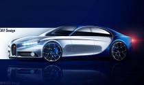 Xem trước siêu xe 4 cửa đầu tiên của Bugatti