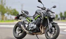 Naked-bike Kawasaki Z900 ABS 2017 có giá bán 288 triệu đồng